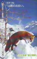FOX RENARD FUCHS VOS Carte Prepayee (346) - Oerwoud
