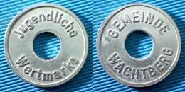 03385 GETTONE TOKEN JETON SERVICE JUGENDLICHE GEMEINDE WACHTBERG - Zonder Classificatie