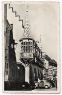 Allemagne - FREIBURG - Vieille Maison Et Evêché-Place De La Cathédrale (animée,voiture), Cpsm 14 X 9 N°5 éd Caparu - Freiburg I. Br.