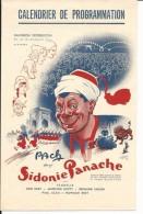 CINEMA CALENDRIER DE PROGRAMMATION 1948FILMS PANTHEON DISTRIBUTION BACH DANS SIDONIE PANACHE - Invoices & Commercial Documents