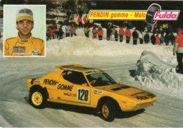 Pilota  PENDIN Giovanni - Sponsor Pendin Gomme - Malo (VI) - - Rallyes
