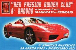 6° Raduno Possessori Di Maserati E Ferrari -Montalero (AL) - 2007 - - Automovilismo