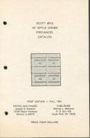 USA, Scott 513, 13c Apple Green Precancel Catalog - United States