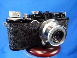Leica - LEITZ Leica I + Elmar 50mm 1:3,5 SN: 10162 - Macchine Fotografiche