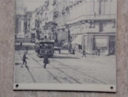 Brussel Regentschapstraat Met Oude Tram - Autres Collections