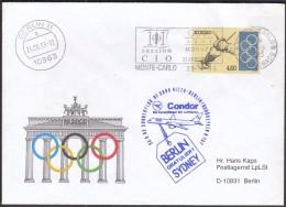 Monaco Monte Carlo 1993 101st Session Of The IOC / Machine Stamp - Juegos Olímpicos
