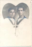 PAREJA GAY DE MARINEROS ARGENTINOS CPA CIRCA 1910 L'ARGENTINE RARISIME TRES BON ETAT UNCIRCULATED - Koppels