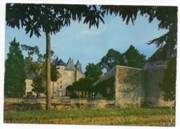 VENDEUVRE DU POITOU--Le Chateau Des Roches (15° Et 16° Siècle),cpm N°86.281.08.2.0032 éd Spadem - Andere Gemeenten