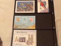 Niuafo'ou, Samoa Cuba, Maldives, Gibraltar    Miniature Sheets - Stamps
