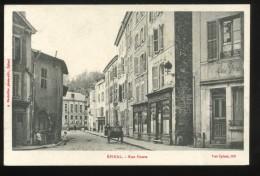 88 Vosges Epinal Rue Haute Bouteiller 1918 Animée - Epinal