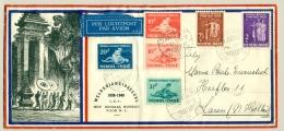 Nederlands Indië - 1939 - Serie Sociaal Bureau Op Speciale Envelop - 10 Cent In Vertikaal Paar - Indes Néerlandaises