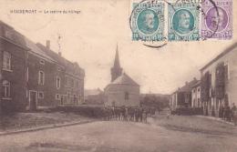 Houdemont   Le Centre Du Village   Animé Circulé En 1925 - Habay