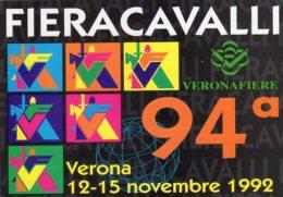 94° FIERA CAVALLI  -  Verona 1992 - - Paarden