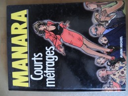 MANARA  ALBIN MICHEL  COURTS METRAGES - Manara
