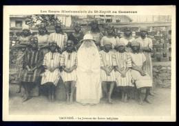 Cpa Du Cameroun Yaoundé -- Le Juvénat Des Soeurs Indigènes     LIOB36 - Cameroon