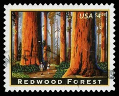 Etats-Unis / United States (Scott No.4378 - Red Wood Forest) (o) TB / VF - United States