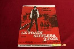 LE TRAIN SIFFLERA 3 FOIS AVEC GARY COOPER - Cinema Advertisement
