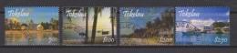Tokelau Mi 388-391 - Island Scenery - Seashore - Ship - Palm Trees - First Day Cancellation - 2008 - Tokelau