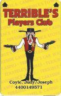 Terrible´s Casino Las Vegas, NV - Slot Card - CPICA 25930 Over Mag Stripe - Casino Cards