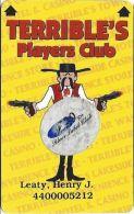 Terrible´s Casino Las Vegas, NV - Slot Card - CPICA 25930 Over Mag Stripe - Senior Sticker - Casino Cards