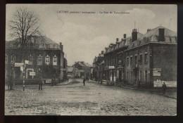 Caudry Pendant L Occupation La Rue De Valenciennes  Rare Vue - Caudry