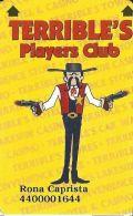 Terrible´s Casino Las Vegas, NV - Slot Card - Cpi 2020289 Over Mag Stripe - Casino Cards