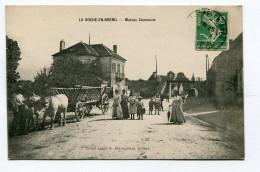 CPA  21  :  LA ROCHE EN BRENIL    Maison Commune Animée      A  VOIR  !!! - Other Municipalities