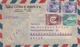 Peru / Airmail / Switzerland - Peru