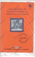 GIOVANNI PAOLO II°- 25° DI PONTIFICATO LA BOLAFFI PROPONE FRANCOBOLLI DEL BENIN-GUINEE-GAMBIA IN LAMINA ARGENTATA-N° 25- - Andere