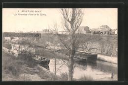 CPA Port-de-Bouc, Le Nouveau Pont Et Le Canal - France