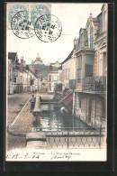 CPA Provins, La Rue Des Marais - Provins