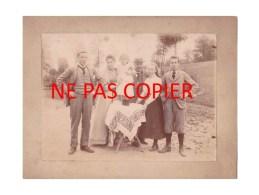 TOP TOP TOP LIBOIS - CARTE PHOTO 1894 - SIMON DE BURBURE Et Ces 5 Enfants Madelaine, Albert, Marthe, Gaston Et Simone - Ohey