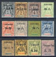 Yunnanfou 1903 - 04 Serie N. 1-15 (mancano N. 10, 11,12) MVLH Catalogo € 375 (completa € 1050)