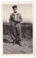 PHOTO FORMAT 11 X 7   MILITAIRE TURC   FRONTIERE BELGE 1940 - Photographs
