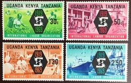 Kenya Uganda Tanganyika 1969 ILO MNH - Kenya, Oeganda & Tanzania