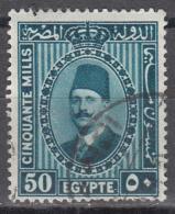 Egypt   Scott No. 145    Used      Year  1927 - Egypt