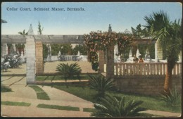 CPSM   Cedar Court, Belmont Manor, Bermuda, - Bermudes