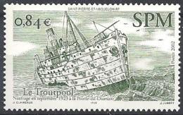 2002 Saint Pierre Et Miquelon N° 784  Nf** . Le Trourpool - Neufs