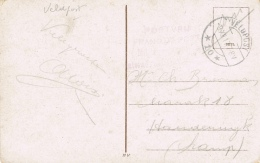 BR 428 NEDERLAND POSTKAART VELDPOST 9 XII 17 ZIE 2 SCANS - 1891-1948 (Wilhelmine)
