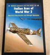 Italian Aces Of World War 2 - Osprey - Littérature & DVD
