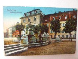 Zweibrücken - Wittelsbach Brunnen - Zweibruecken