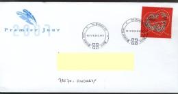 Invitation Givenchy + Enveloppe FDC 06.01.2007 - FDC