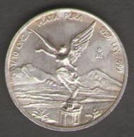 MEXICO / MESSICO - 1/10 SILVER ONCE (1996) PLATA / AG / SILVER - Messico