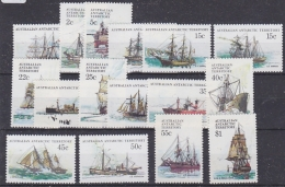 AAT 1979 Definitives / Ships 16v ** Mnh (27779) - Australian Antarctic Territory (AAT)
