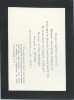 Faire-part De Remerciement/GAUTIER-GREGOIRE/1946   FPD67 - Décès