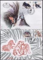 Yugoslavia 1996 Animals - 60th Anniversary Of Belgrade Zoo, FDC (First Day Cover) Michel 2787-2790 - FDC