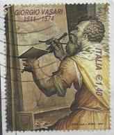 Italia 2011, Giorgio Vasari (o), Da Foglietto - 6. 1946-.. Repubblica