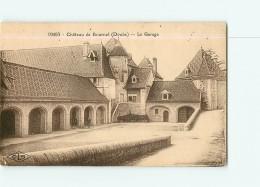 Château De BOURNEL - Le Garage - 2 Scans - Non Classés
