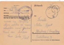 Feldpost WW2:  2. Schwadron Aufklarungs-Abteilung L00. Infanterie-Division  FP 19766 P/m 15.6.1941 - Plain Postcard (G84 - Militaria