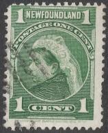 Newfoundland. 1897-1918 Definitives. 1c Used SG 85a - Newfoundland
